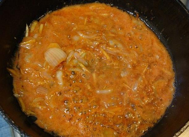 Курица в имбирном соусе - фото шаг 6