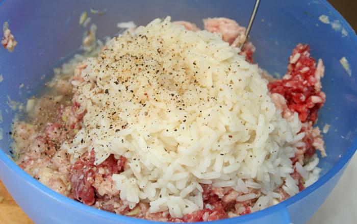 Перец, фаршированный мясом и овощами - фото шаг 3