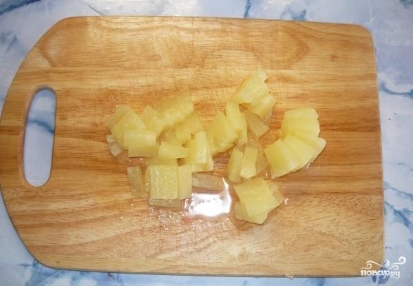 Салат по-гавайски - фото шаг 2