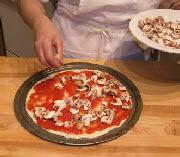 Пицца с грибами - фото шаг 2