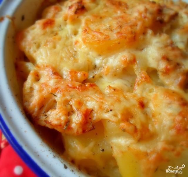 Рецепт Цветная капуста с яйцом и сыром