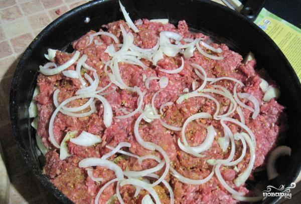 Мясо по-французски с фаршем - фото шаг 4