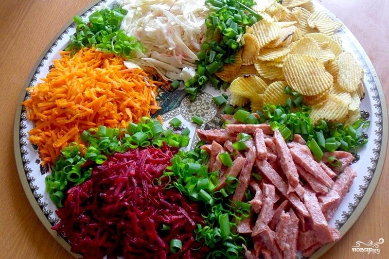 Салат бардак пошаговый рецепт 158