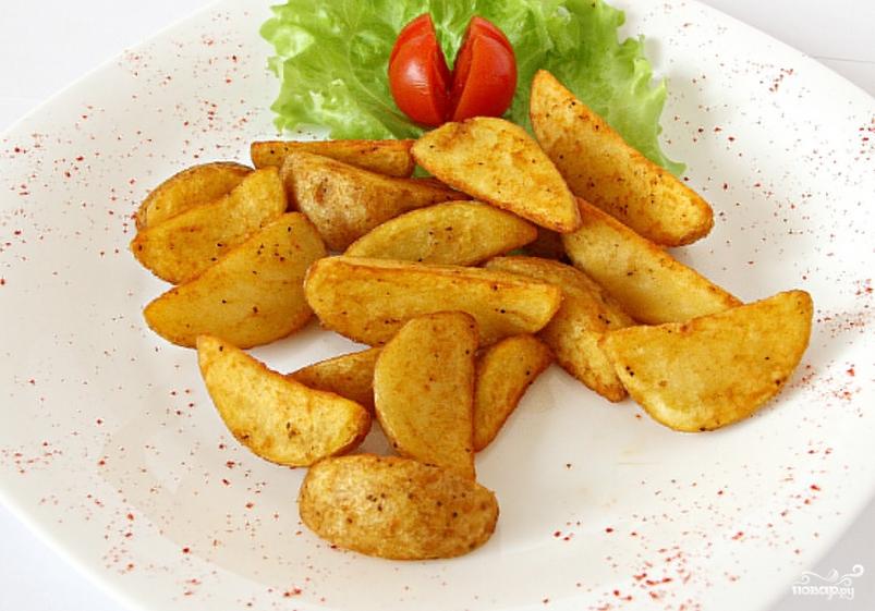Картошка в аэрогриле - фото шаг 4