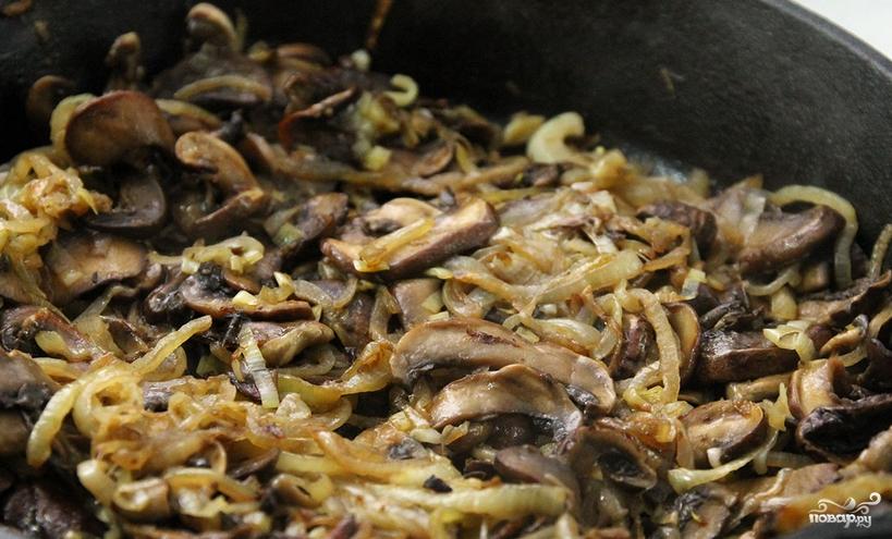 Запеканка с брокколи, и сыром, и грибами - фото шаг 1
