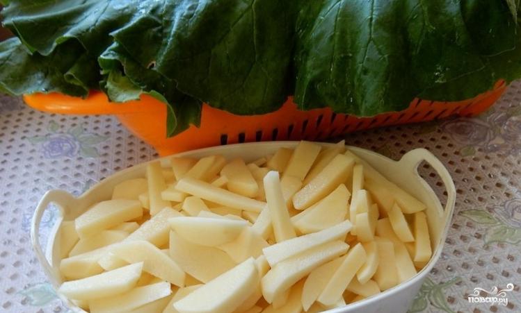 Суп из ревеня - фото шаг 3