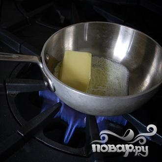 Вафли с коричневым маслом - фото шаг 1