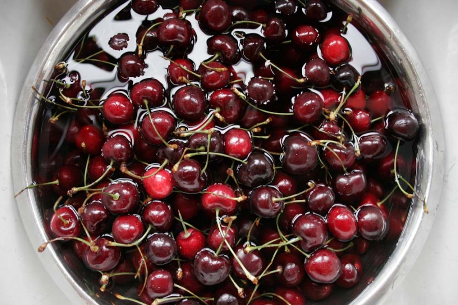 Рецепт Желе из вишни без желатина