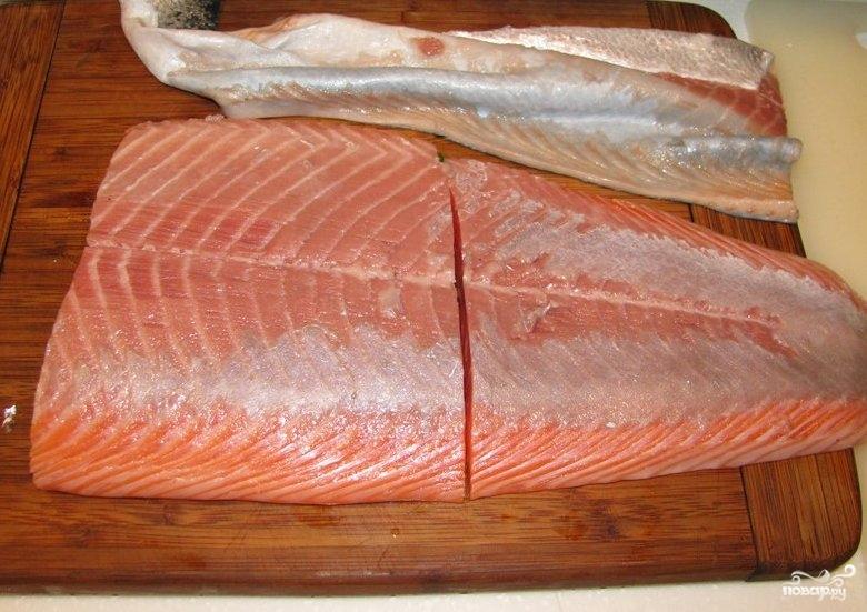 Рецепт Крем-суп из лосося