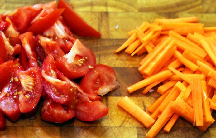 Борщ рецепт классический с мясом - фото шаг 4