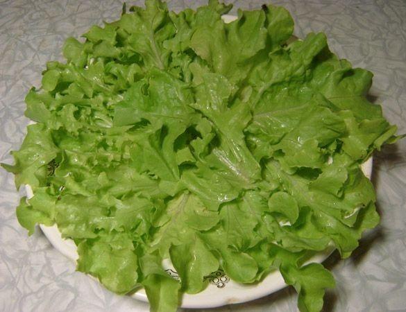 Салат с киви и сыром - фото шаг 1