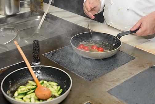 Сибас на сковороде - фото шаг 5