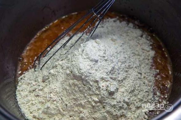 Бездрожжевое тесто для пирожков на воде - фото шаг 3