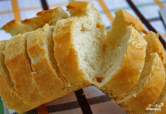 Багет с сыром и чесноком - фото шаг 6