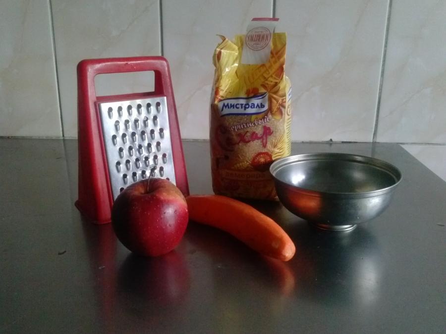 Витаминный салат - фото шаг 1