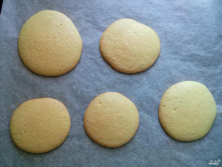 Розочки из бисквитного теста - фото шаг 5
