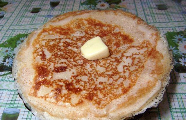 Блинчики на молоке на дрожжах рецепт с пошагово