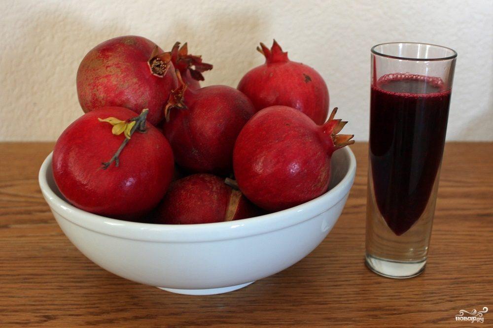 Рецепт Маринад для шашлыка из гранатового сока