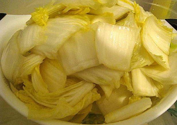 Маринованная китайская капуста - фото шаг 4