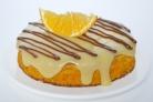 Бисквит с апельсиновым кремом