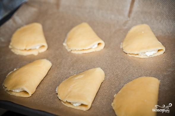 Тесто с творогом - фото шаг 11