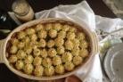 Постный пирог грибной