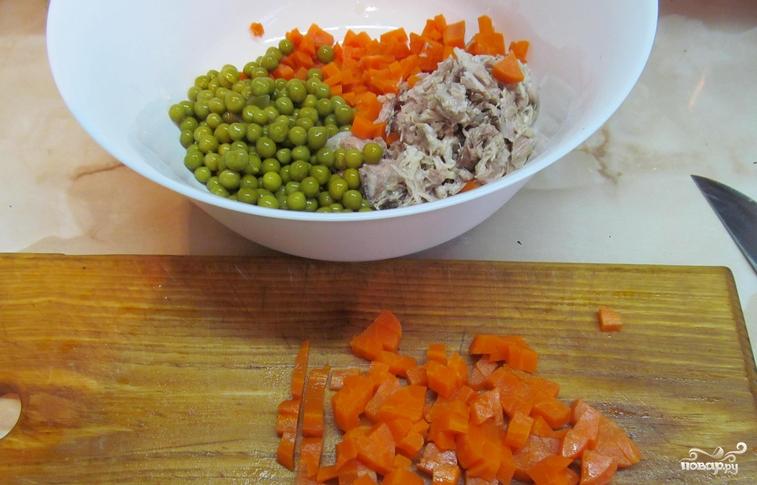 Салат со свининой - фото шаг 1