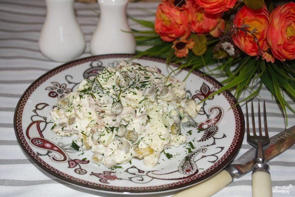 Салаты с фото русская кухня