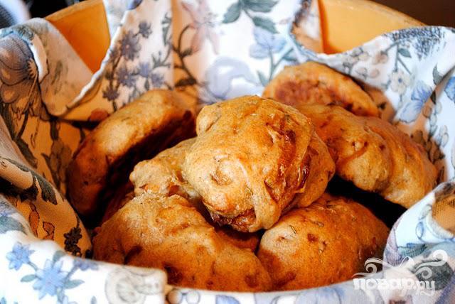 Хлеб с луком и розмарином - фото шаг 6