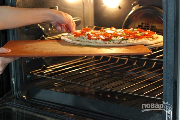 Тесто для тонкой итальянской пиццы - фото шаг 6