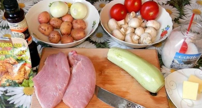 Рецепт Шашлычки из индейки на шпажках в духовке