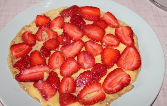 Медовый торт на сковороде - фото шаг 18