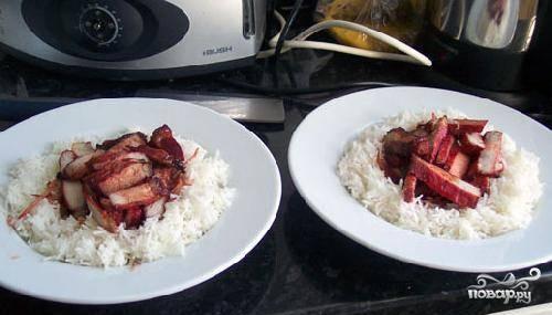 Мясо на решетке в духовке