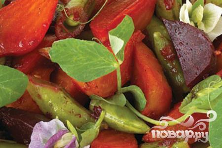 Рецепт Салат из свеклы и фасоли