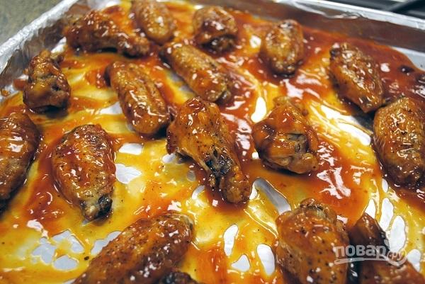 Рецепт острых крылышек в духовке пошагово
