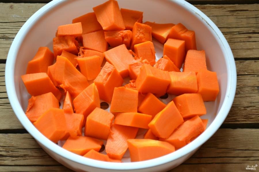Оладьи из тыквы в духовке - фото шаг 2