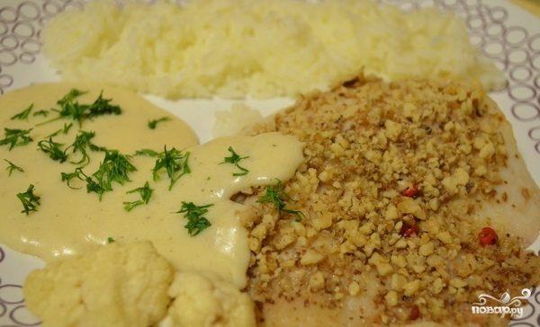 Сливочно-сырный соус