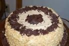 Арахисовый шоколадный торт