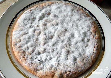 Постный пирог со смородиной - фото шаг 8