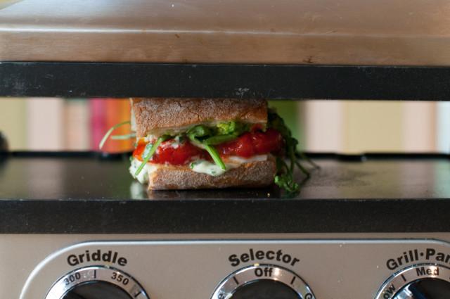 Сэндвичи с болгарским перцем - фото шаг 8