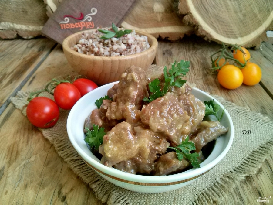 Мясо по-польски  - фото шаг 5