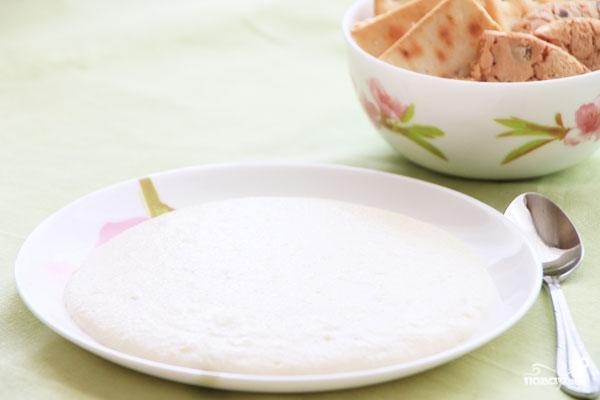 Рецепт Молочный суп с рисом