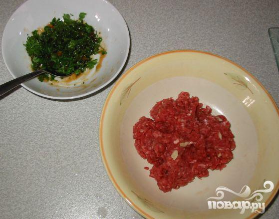 Мясные шарики в томатном соусе - фото шаг 2
