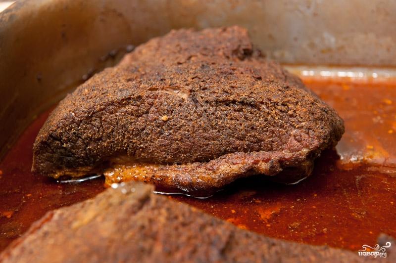 Филе говядины в духовке - фото шаг 4