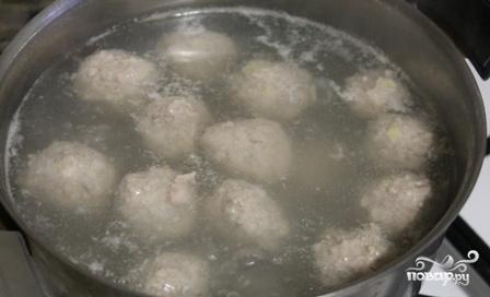 Суп-пюре с фрикадельками - фото шаг 3