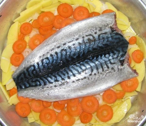рыба скумбрия в духовке рецепты фото