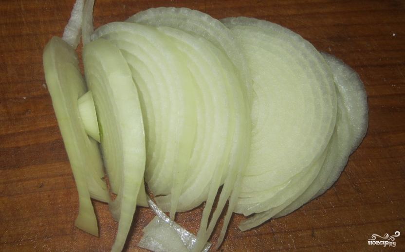Картошка со свининой и сыром в духовке - фото шаг 3