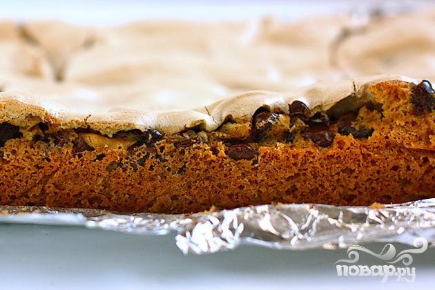 Пирожные с шоколадом и безе - фото шаг 7