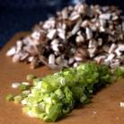 Рецепт Пирожки с грибами и голубым сыром