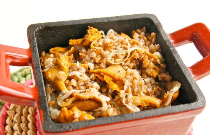 говядина в горшочках с гречкой в духовке рецепт